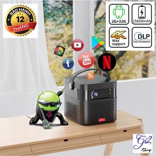Máy chiếu mini Toumei K5 - Công nghệ DLP - Xem phim 3D, youtube, netflix... - Kết nối wifi, điện thoại, laptop... - Tích thumbnail