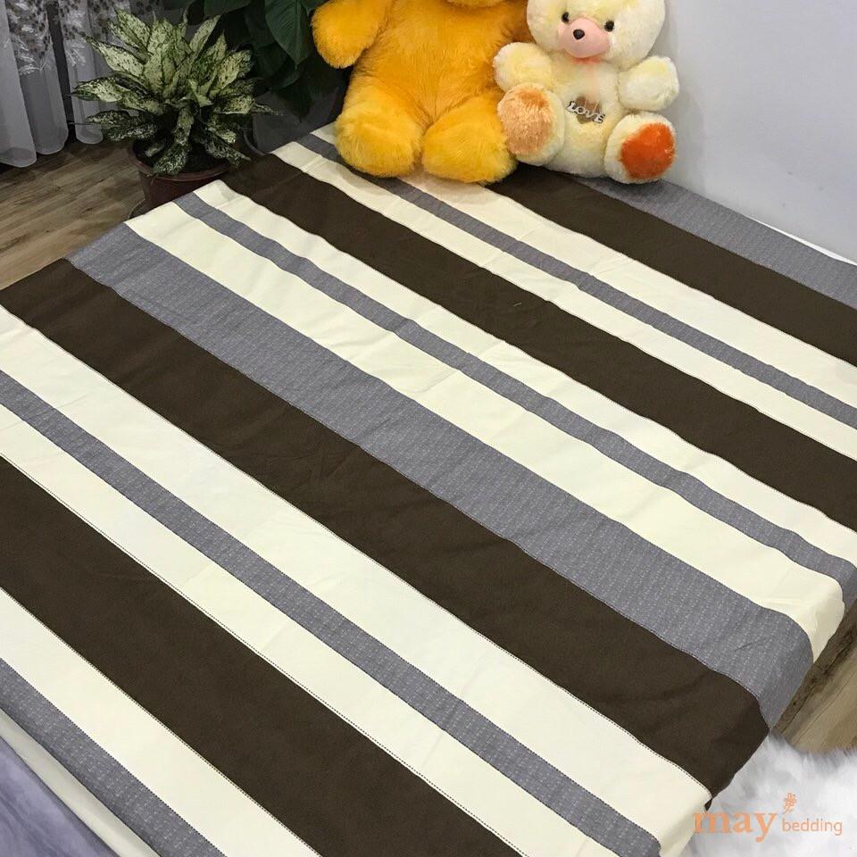 Ga chống thấm cotton May bedding drap chống thấm nước trải giường bọc đệm cho bé nằm trực tiếp