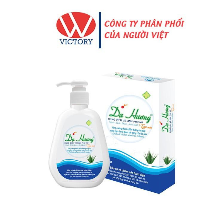 Dung Dịch Vệ Sinh Phụ Nữ Dạ Hương Xanh (120ml) - Victory Pharmacy