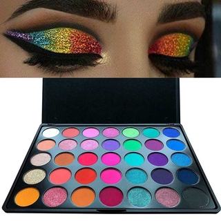 Morphe Pro 35 Color Eyeshadow Makeup Palette – GLAM (High Pigmented) 35B Morphe