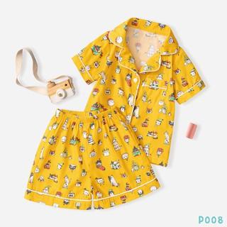 [Mã FABR449 giảm 15% đơn 99K] Bộ Pijama Cho Bé 5 Màu Siêu Đáng Yêu BELLO LAND thumbnail