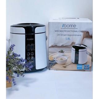 Nồi nấu đa năng IBONNE IB-27- Dung tích 1.8L