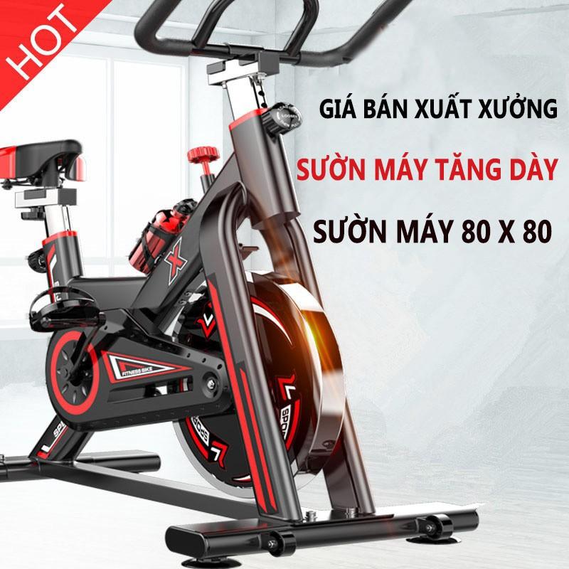 Xe đạp tập thể dục Air bike GH-709 thiết kế mới ( Chống ồn ) Bản tiếng anh xuất Mỹ