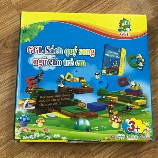 [Nhập TOYMAR giảm 10%]Combo sách nói song ngữ cho bé GGL tặng kèm set 3 tập tô bay mực