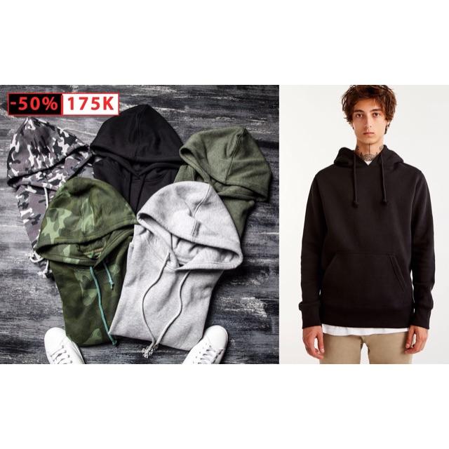 Áo hoodie nỉ bông l1 dày ấm