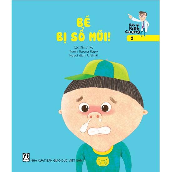 Sách truyện Bác sĩ Kính Coong tập 2 – Bé bị sổ mũi