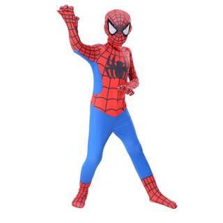 Bộ quần áo siêu nhân hoá trang Cosplay người nhện đỏ truyền thống
