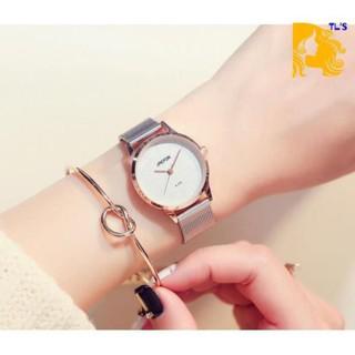 [HOTTREND] Đồng hồ nữ JAEFOR kim loại - có size nam thumbnail