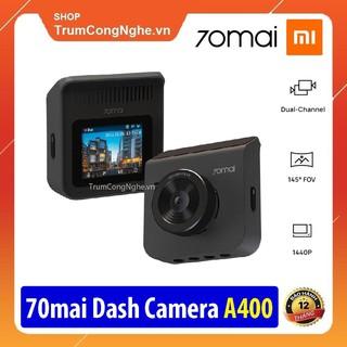 Camera hành trình ô tô Xiaomi 70mai Dash Cam A400 Siêu Nét độ phân giải 2K 1440P