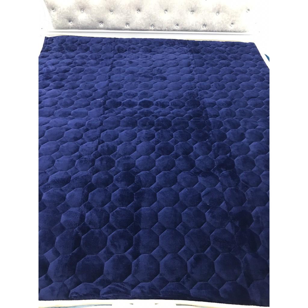 Thảm nỉ nhung trải giường 1 màu HÀNG LOẠI 1 (MÀU XANH TÍM THAN ) - 2723381 , 869411070 , 322_869411070 , 300000 , Tham-ni-nhung-trai-giuong-1-mau-HANG-LOAI-1-MAU-XANH-TIM-THAN--322_869411070 , shopee.vn , Thảm nỉ nhung trải giường 1 màu HÀNG LOẠI 1 (MÀU XANH TÍM THAN )