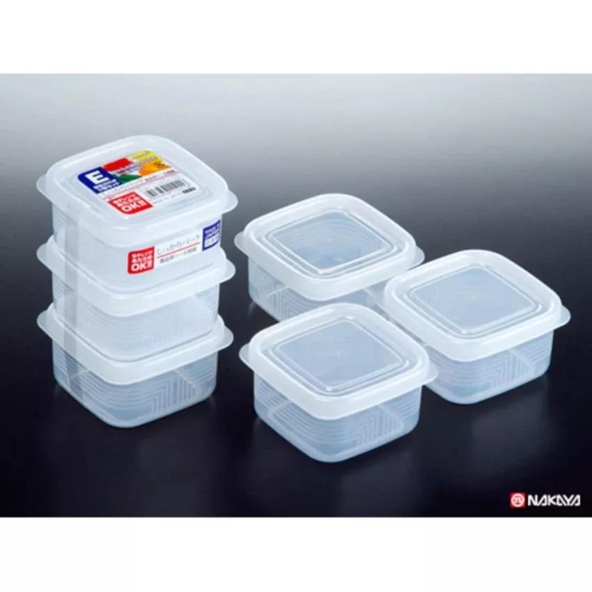 [TẶNG LI XI TET] Set 3 hộp nhựa 200ml- Hàng Nhật nội địa