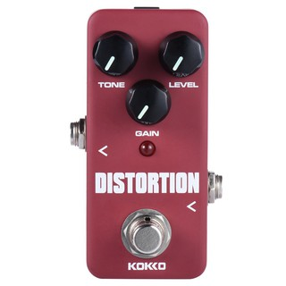 yohi2018 KOKKO FDS2 Mini Distortion Pedal Portable Guitar Effect Pedal