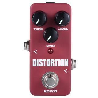 yohi2018 KOKKO FDS2 Mini Distortion Pedal Portable Guitar Effect Pedal