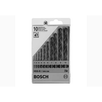 Bộ 10 mũi HSS-R DIN338 Ø 1-10 mm Bosch 1609200203 - 2806088 , 140564139 , 322_140564139 , 186000 , Bo-10-mui-HSS-R-DIN338-1-10-mm-Bosch-1609200203-322_140564139 , shopee.vn , Bộ 10 mũi HSS-R DIN338 Ø 1-10 mm Bosch 1609200203