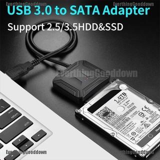 Cáp Chuyển Đổi Usb 3.0 Sang Sata 3.5 2.5 Cho Samsung Seagate Wd Hdd Ssd