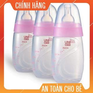 [ Mã HONGKIDS Giảm 20k ] Bộ 3 Bình Trữ Sữa Unimom Hàn Quốc 150ml