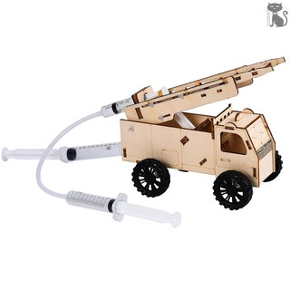 §COD Interesting Scientific Experiment Technology Small-scale Manufacturing Handmade Material Hydraulic Fire Tr