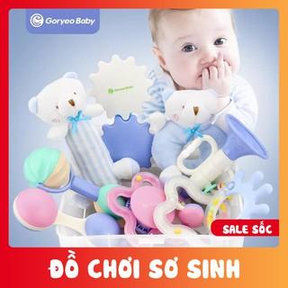 Set đồ chơi xúc sắc 9 món cho bé sơ sinh