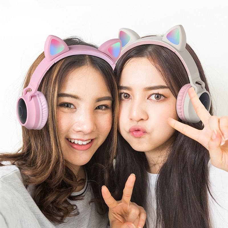 Tai nghe mèo Luckyu Wireless Bluetooth