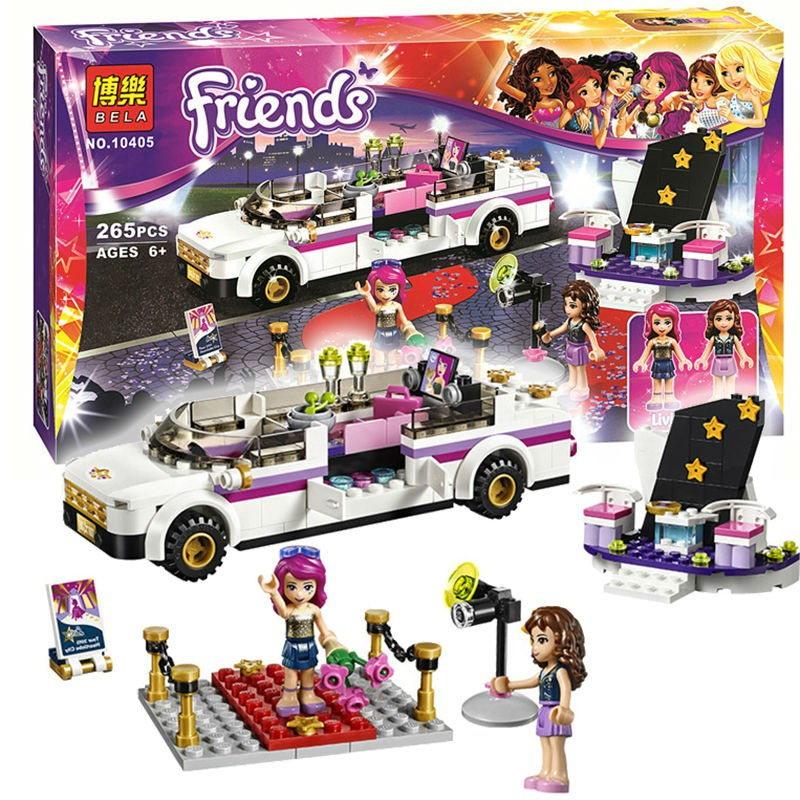 Xếp hình Lego Friend - Siêu sao trên thảm đỏ- 265 pcs
