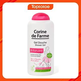 Sữa Tắm Cho Cơ Thể Và Vùng Kín Corine De Farme Shower Gel 2 in1 - 250ml