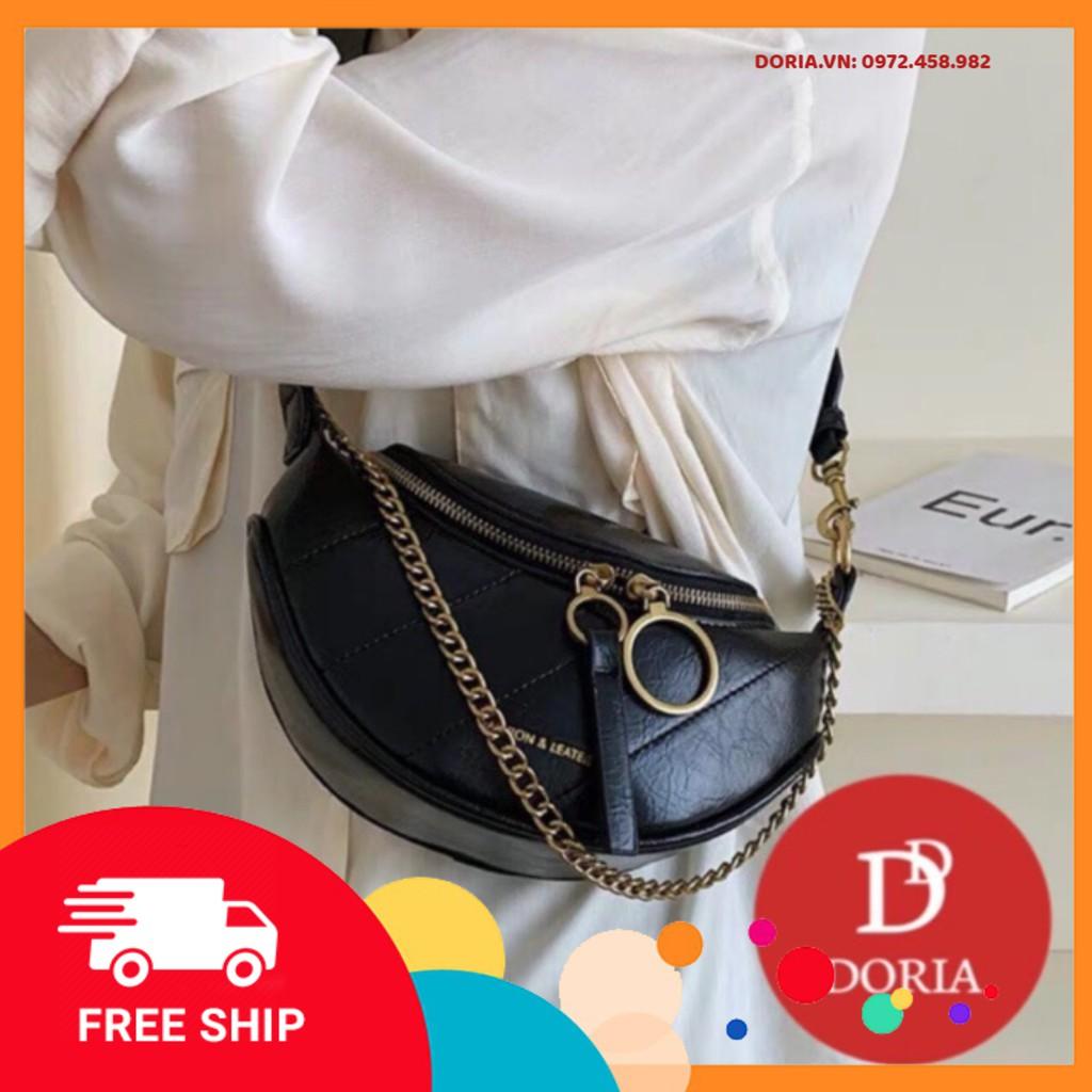 Freeship 50K - Túi đeo chéo, đeo bụng nữ Fashion New 2021 - DR3456