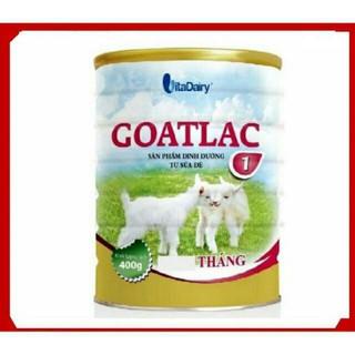 Sữa dê goatlac 1 400g date 7/2021