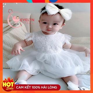 Váy bé gái 👗 FreeShip + Tặng kèm nơ 🌺 Đầm công chúa Evelyn cho bé siêu xinh VF08 E001 E003