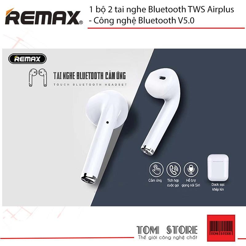 1 bộ 2 tai nghe Bluetooth TWS Airplus - Công nghệ Bluetooth V5.0 - Bảo hành 12 tháng #Tainghe