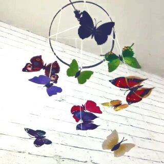 Bộ bướm phát triển thị giác cho bé 4-6 tháng tuổi