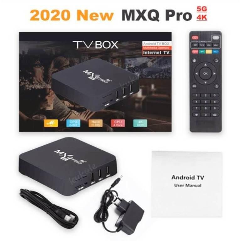 MXQ Pro Android 7.1 TV Box 1GB 8GB 4K 2.4GHz Wifi Quad Core Smart TV Box (Bảo hành bởi 6 tháng)