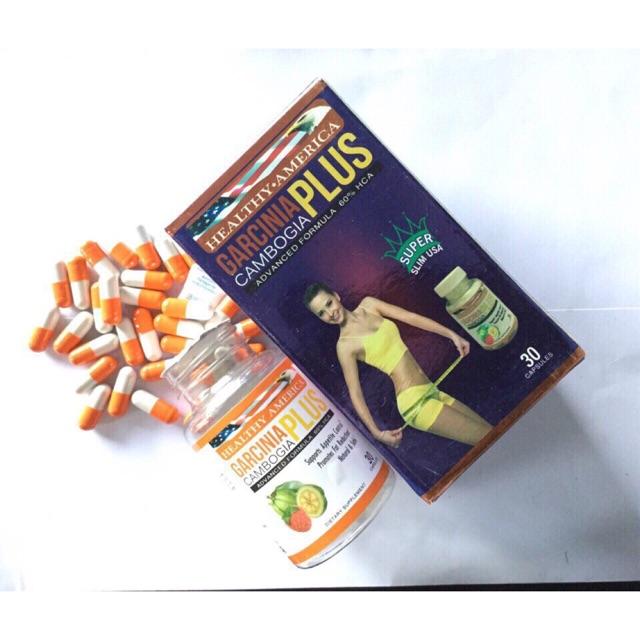 Viên uống giảm cân thảo dược Garcinia Plus