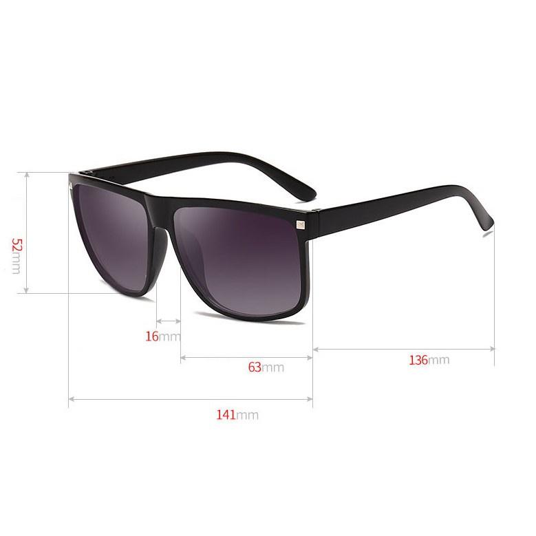 Kính râm unisex thời trang Hàn Quốc, kính mát chống tia UV tia cực tím giá tốt nhất - Shin...
