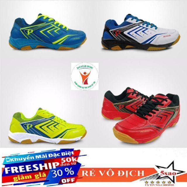 Giày cầu lông, bóng chuyền Promax 19002 new 2020 , sale 4 màu full size nam và nữ