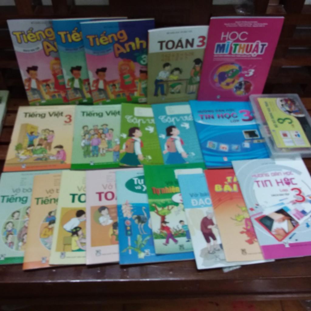 Sách - Sách giáo khoa lớp 3 trọn bộ 21 sản phẩm - 35080021
