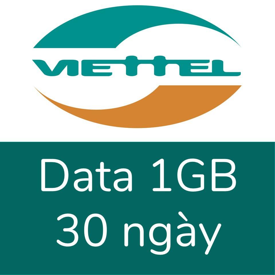 Viettel 1GB, 30 ngày