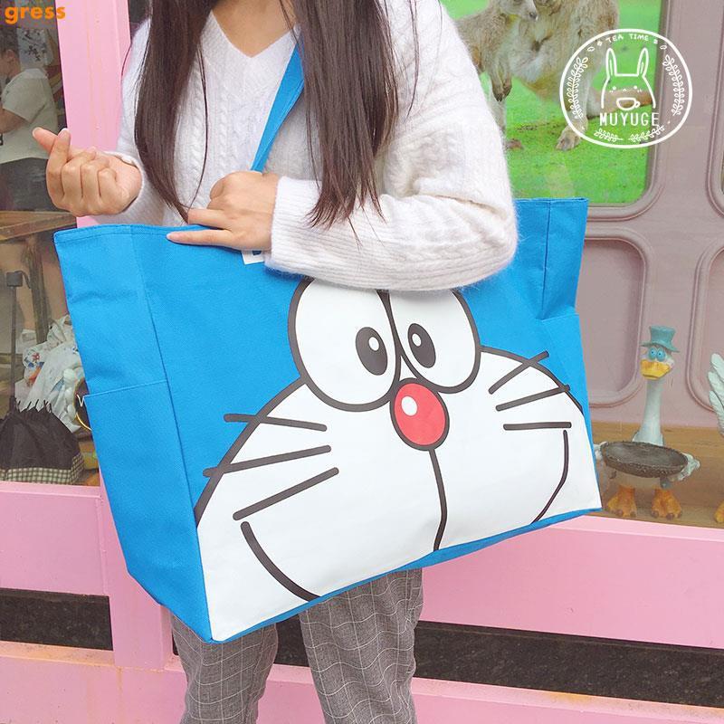 Korean cartoon cute large capacity casual bear handbag Korea