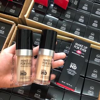 Có sẵn - Kem nền Make Up For Ever Ultra HD Foundation (Mufe - Makeup Forever) thumbnail