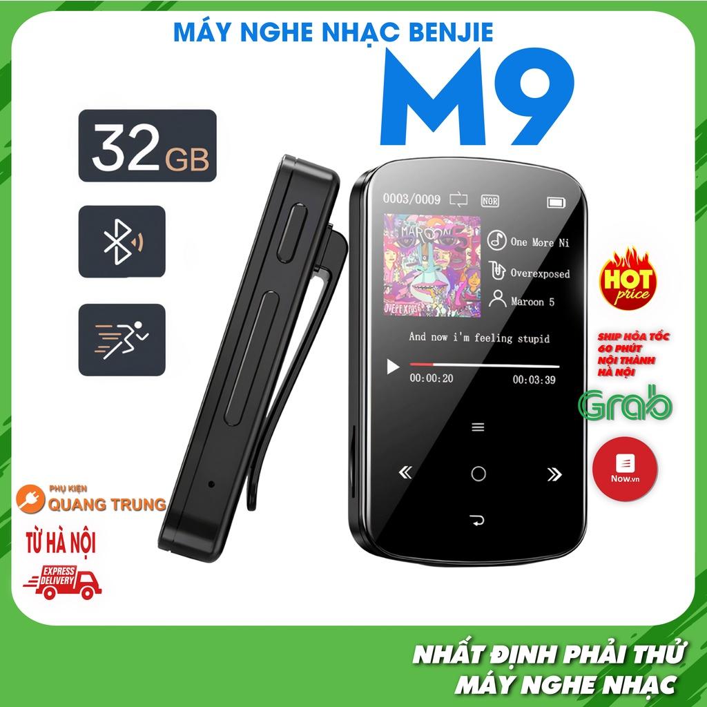 Máy nghe nhạc benjie M9 mới nhất, dung lượng 32GB, bluetooth 4.2, chức năng  đo calories hỗ trợ tập thể dục thể thao - Máy Nghe Nhạc