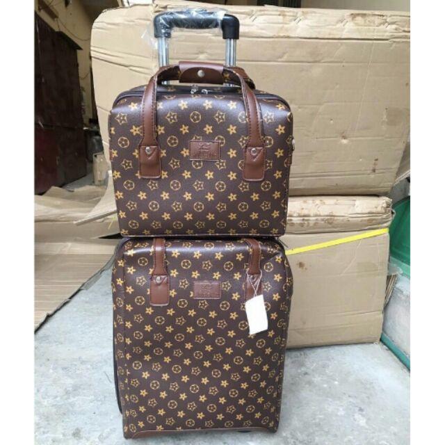 Hàng đặt, Set vali và túi xách du lịch như hình