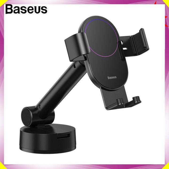 Gía đỡ điện thoại gắn taplo hoặc kính lái ô tô thương hiệu Baseus SUYL-JY01 - Hàng Nhập Khẩu Chính Hãng