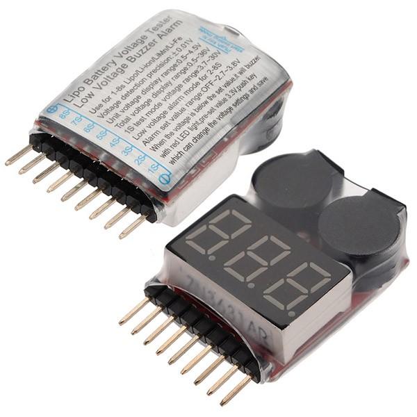 Module kiểm tra pin Lipo 1-8S