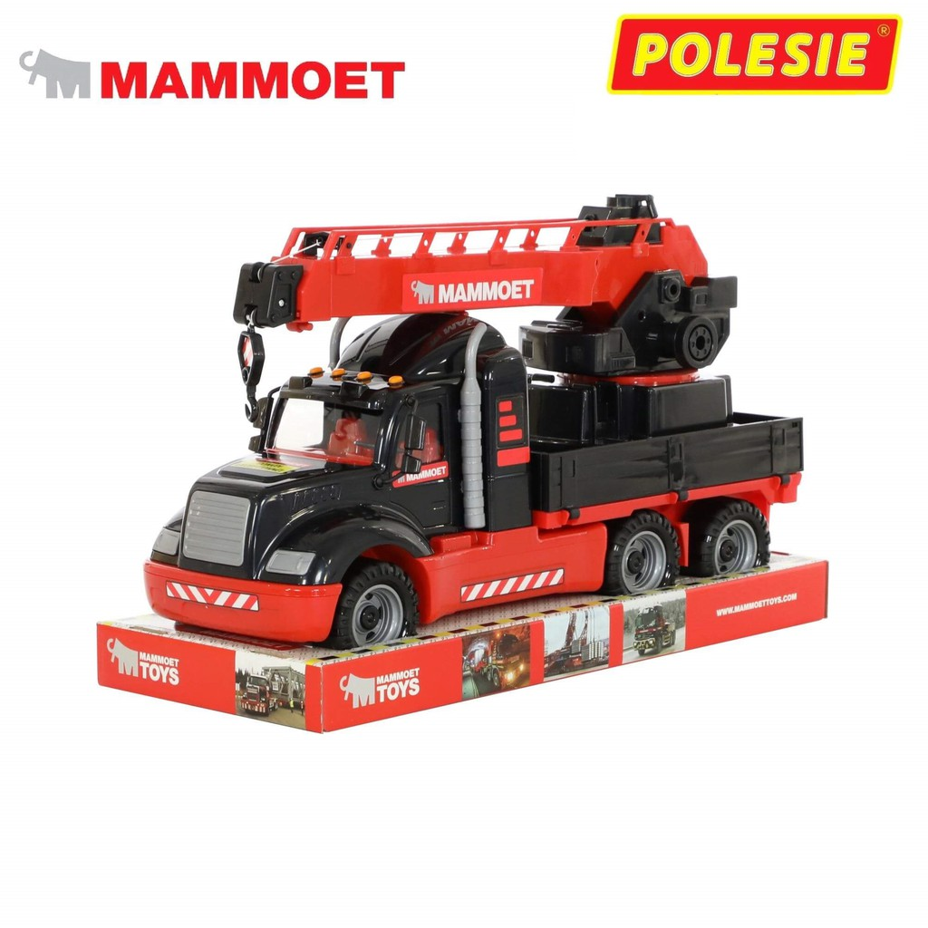 Xe cẩu Mammoet đồ chơi – Polesie Toys