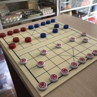 Bộ chơi cờ úp ( quân cờ + bàn cờ chống nước + nắp)