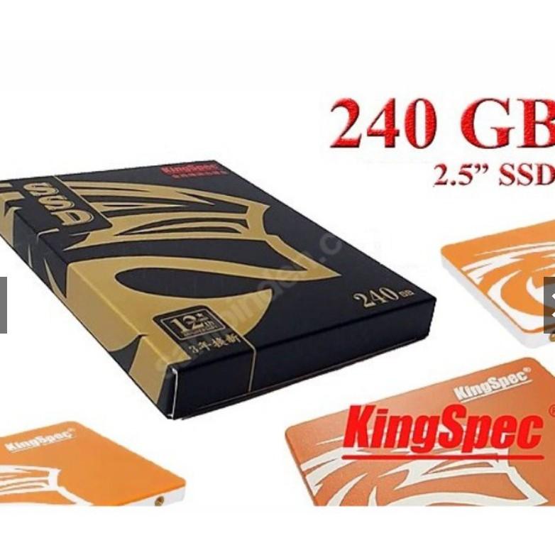 [Mã 267ELSALE hoàn 7% đơn 300K] Ổ cứng [RẺ VÔ ĐỊCH] ổ cứng SSD KingSpec 240GB – CHÍNH HÃNG – Bảo hành 2 năm – SSD 240GB