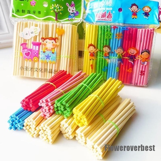 [FlowerBoys] 500pcs Colorful Bamboo Counting Sticks MathematicsTeaching Aids Toy