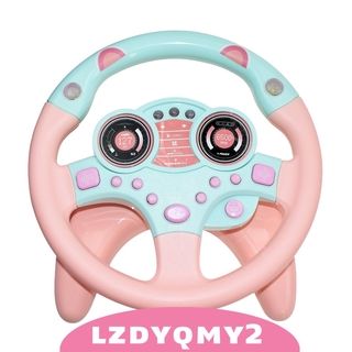 Curiosity MagiDeal Interactive Education Racing Driver Simulated Steering Wheel Toy