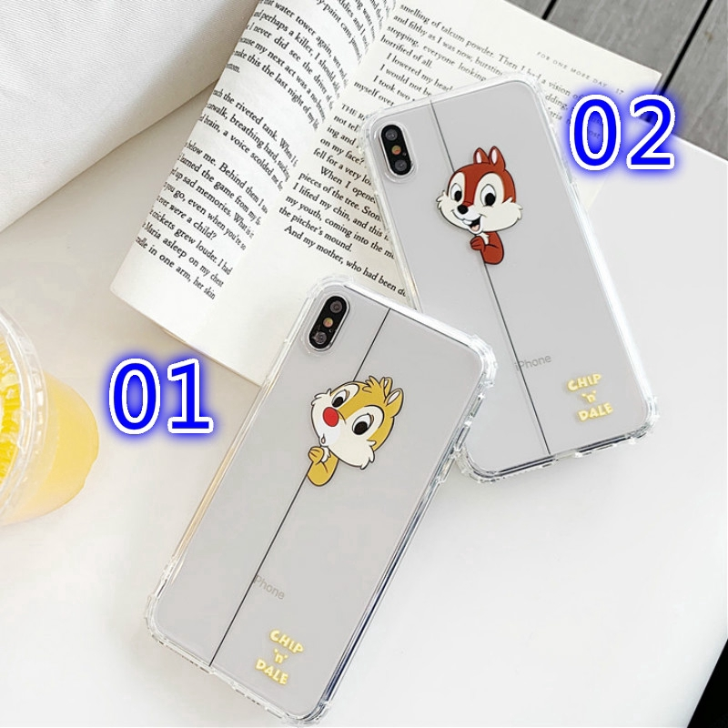 For iPhone 6 7 8 Plus X XR XS Max Squirrel Phone Case