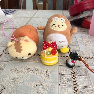 Combo đồ chơi gấu và hải cẩu