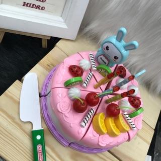 Đồ chơi cắt bánh kem sinh nhật. Đồ chơi bánh gato